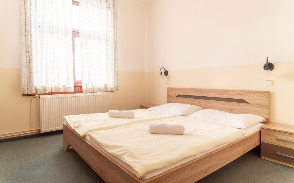Izby sú čisté a presvetlené