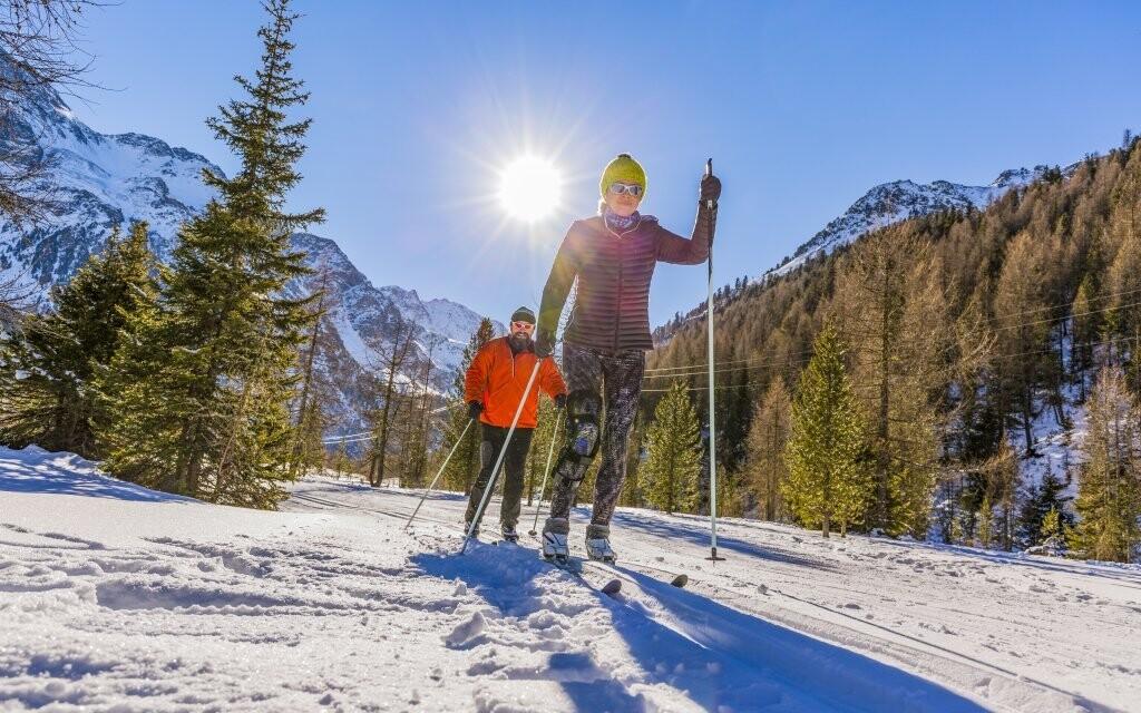 Krušné hory jsou ideální pro lyžaře