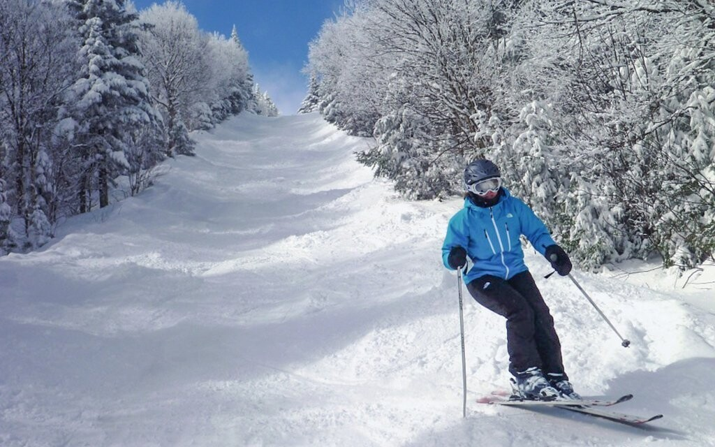 Krušné hory sú ideálne pre lyžiarov