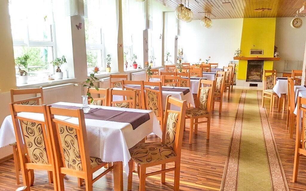 V restauraci můžete ochutnat slovenské i ruské speciality