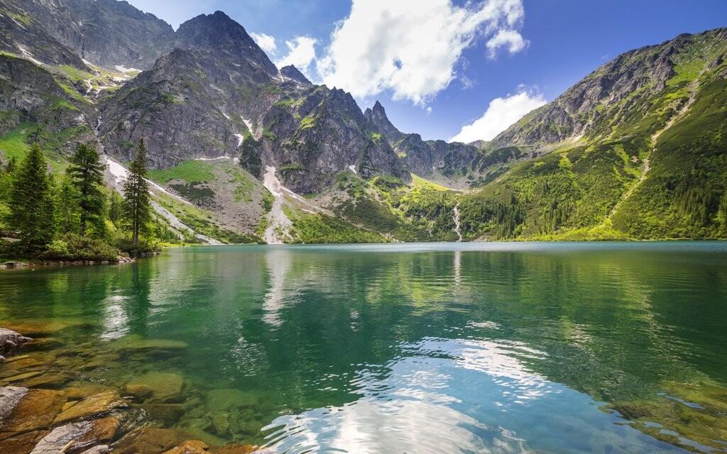 Horské pleso, Vysoké Tatry, Slovensko