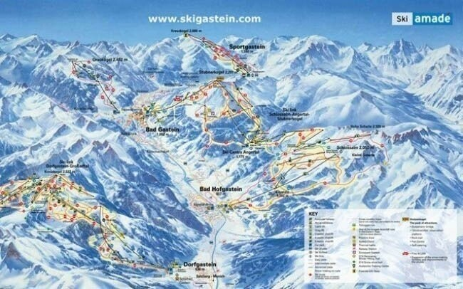 Lyžovačka v jednom z najväčších Ski rezortov v Rakúsku