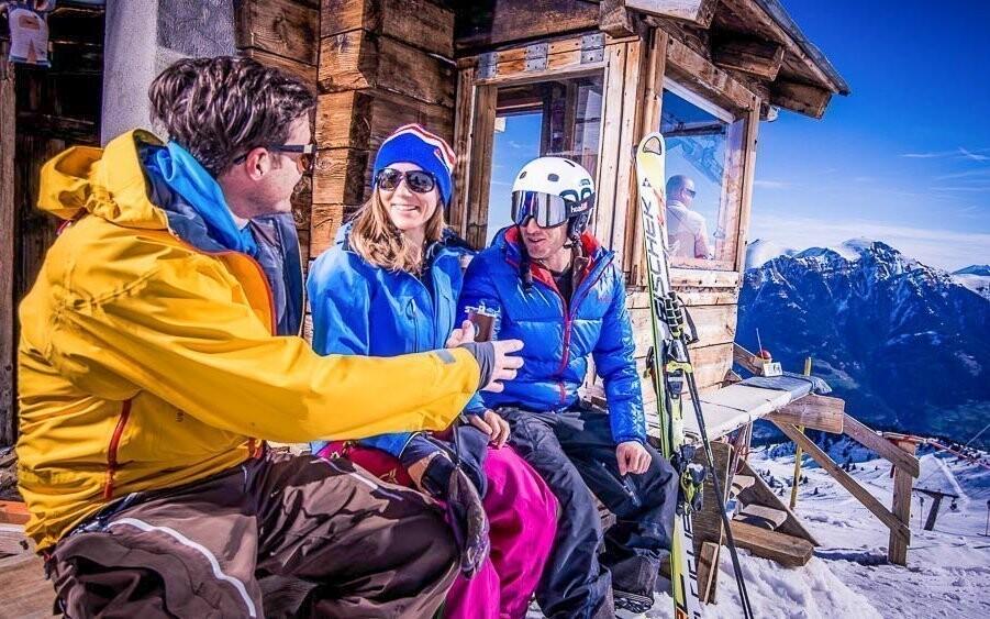 Lyžovačka v jednom z největších Ski resortů v Rakousku