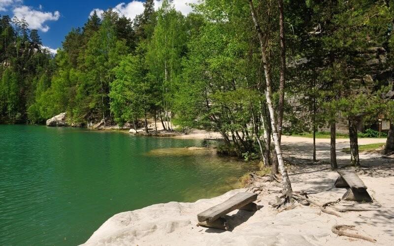 Užijte si nádhernou přírodu Adršpachu
