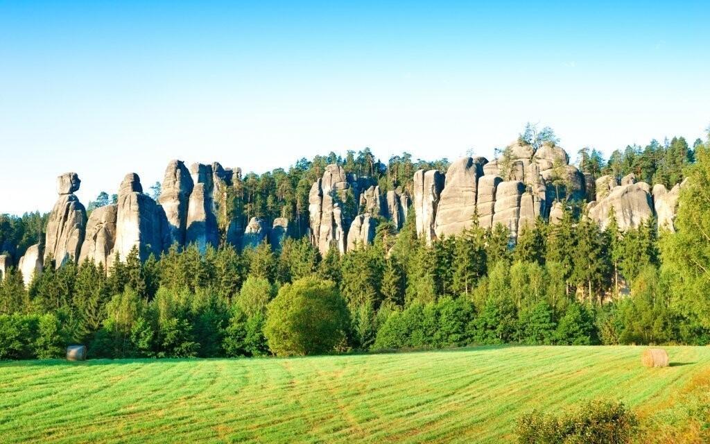 Krásná příroda Adršpachu je ideální pro dovolenou s rodinou