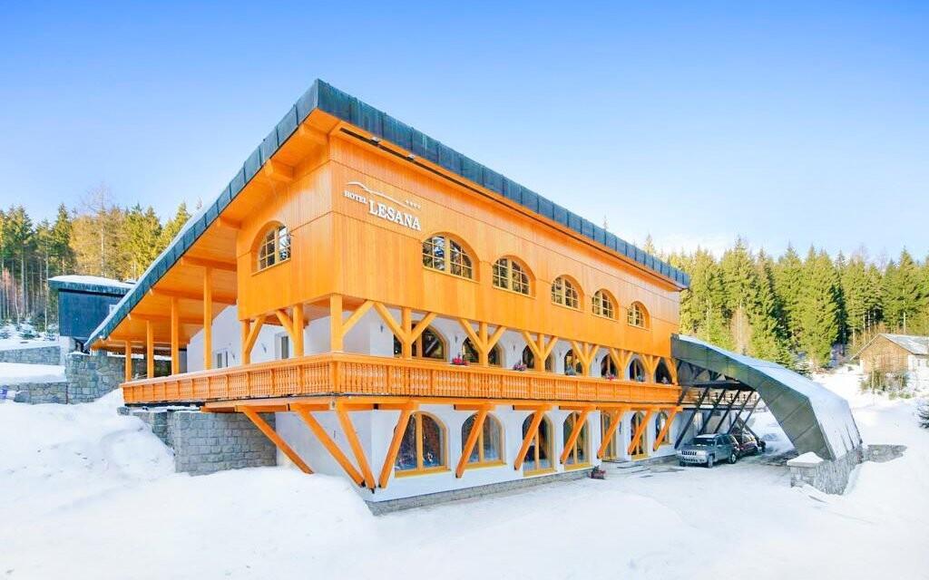 Hotel Lesana *** je ve Špindlerově Mlýně oblíbený
