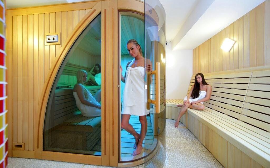Najdete tu také sauny