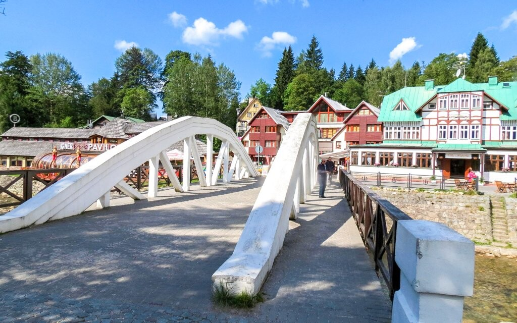 Špindlerův Mlýn, oblíbené středisko v Krkonoších