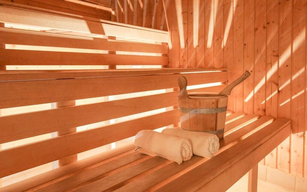 Najdete tu pět druhů saun