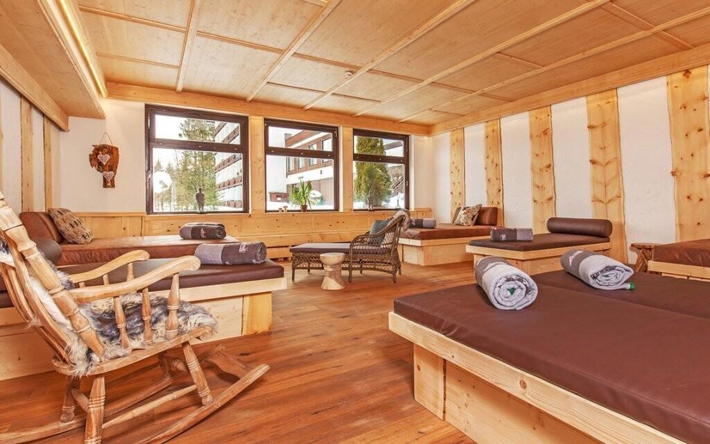 Je tu pre vás relaxačná miestnosť