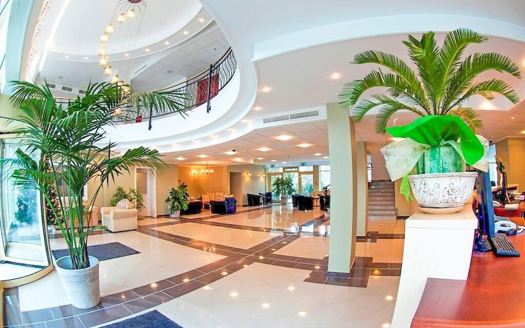 Užijte si luxusní interiéry hotelu