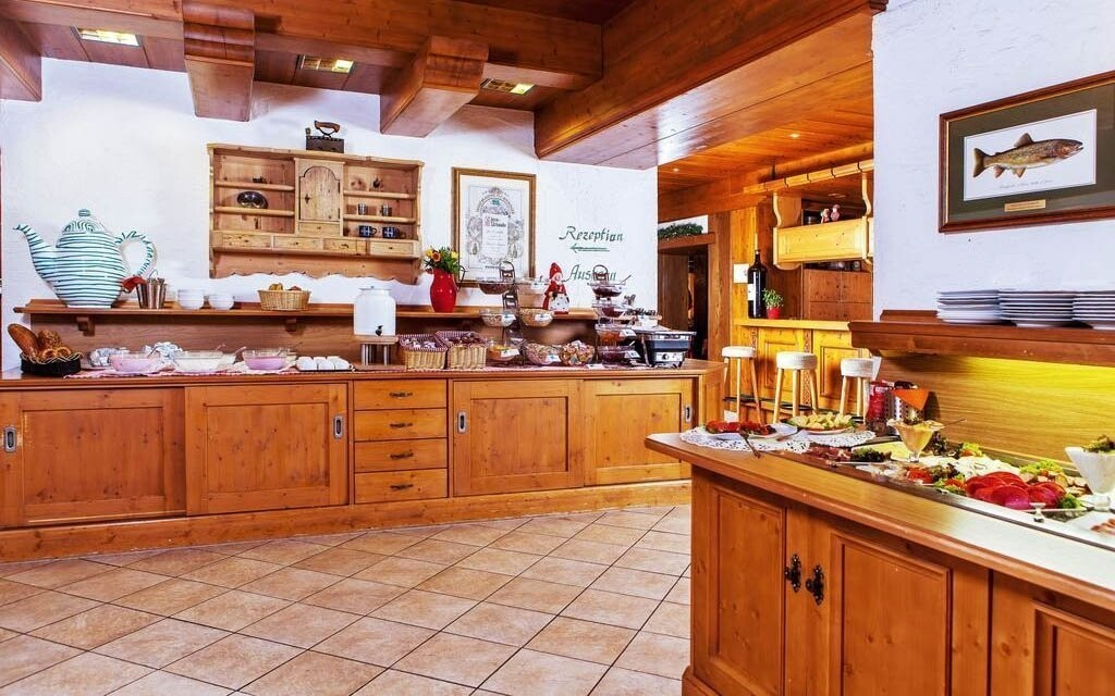 Hotel si zakládá na domácích potravinách