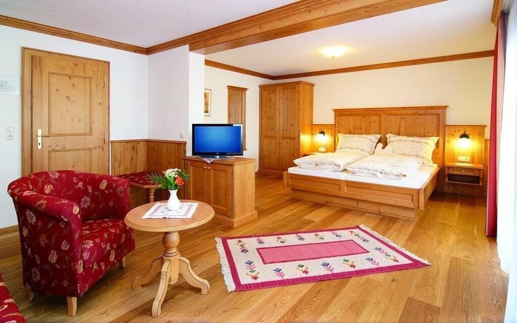 Pokoje jsou útulné a stylově zařízené