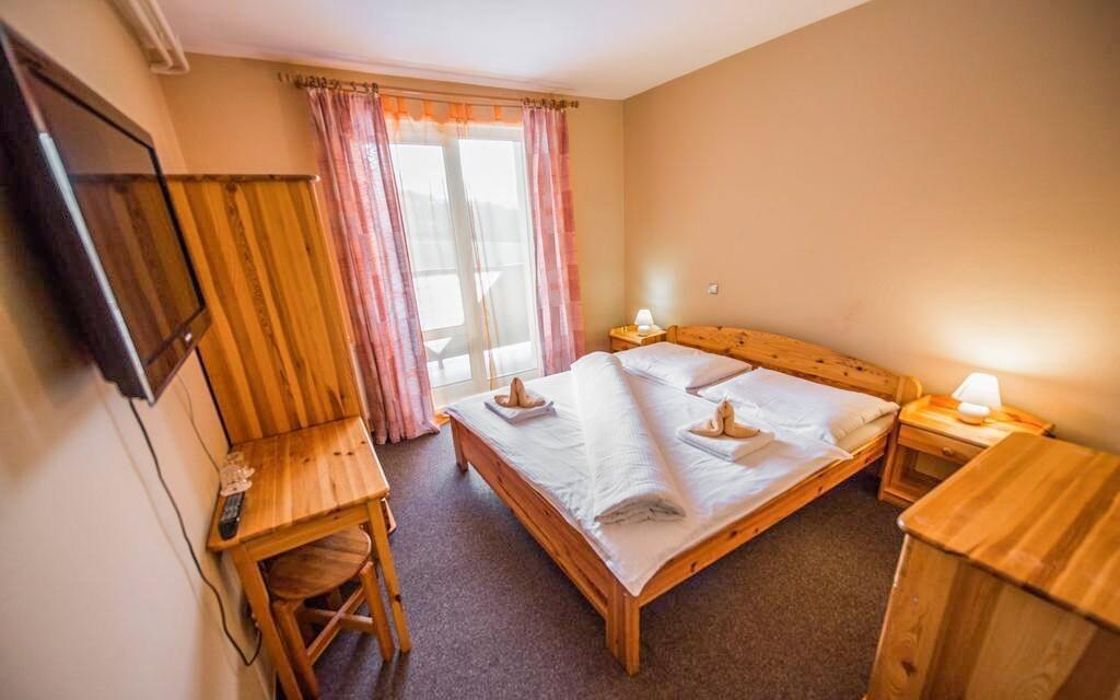 Príjemne zariadené izby hotela