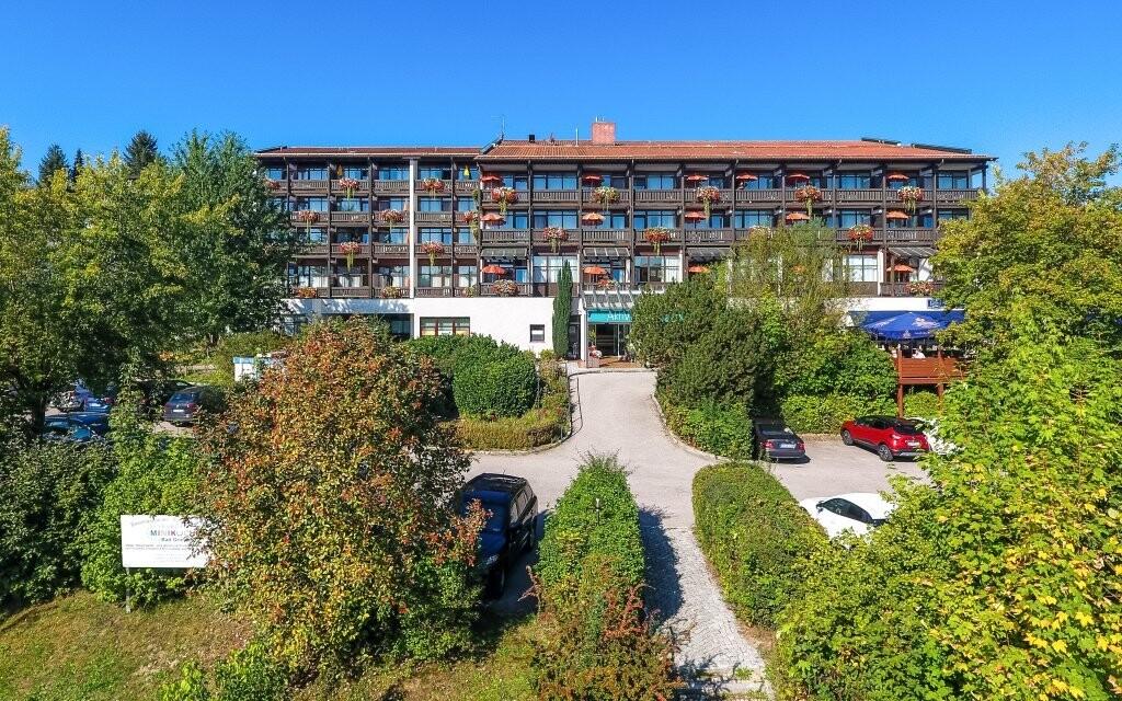 AktiVital Hotel *** se nachází v lázeňském městě