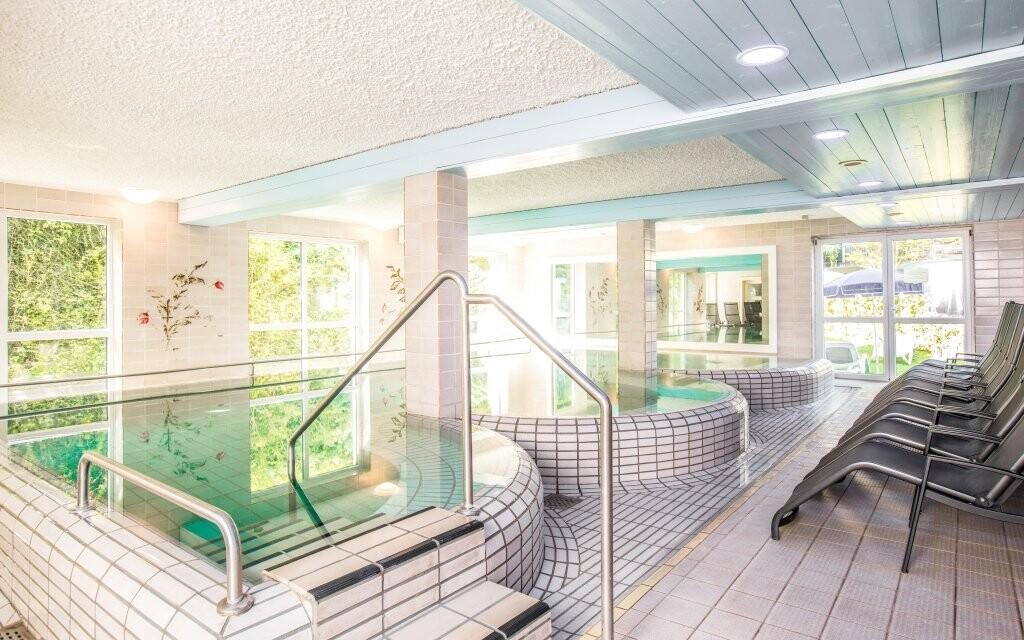 Užijte si termální bazény přímo v hotelu