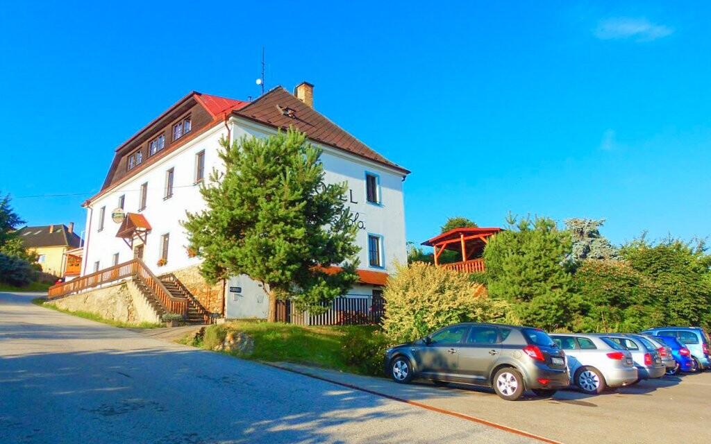 Hotel Hořice na Šumave pri Lipne je ideálny pre rodiny