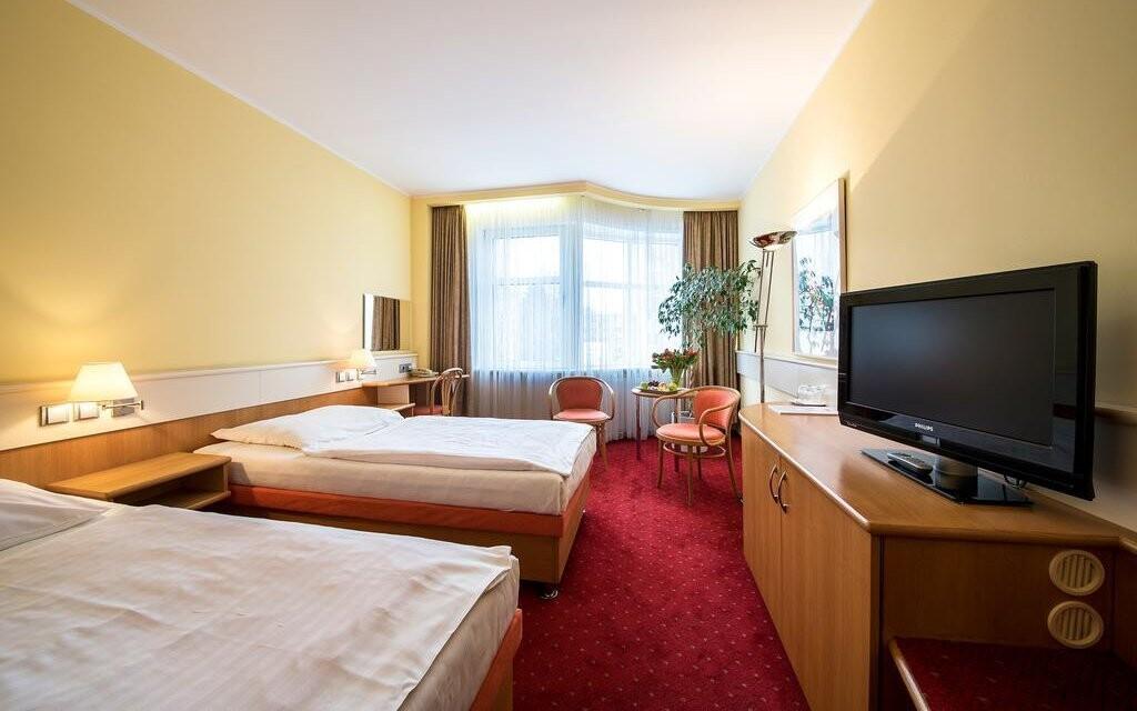 Čakajú vás pohodlne zariadené izby Comfort