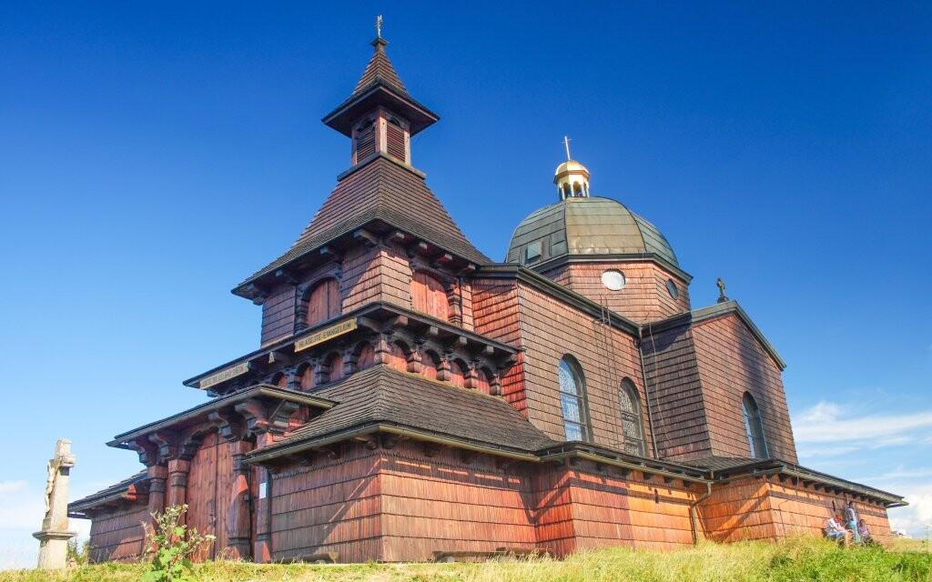 Kaple svatého Cyrila a Metoděje, Radhošť, Beskydy