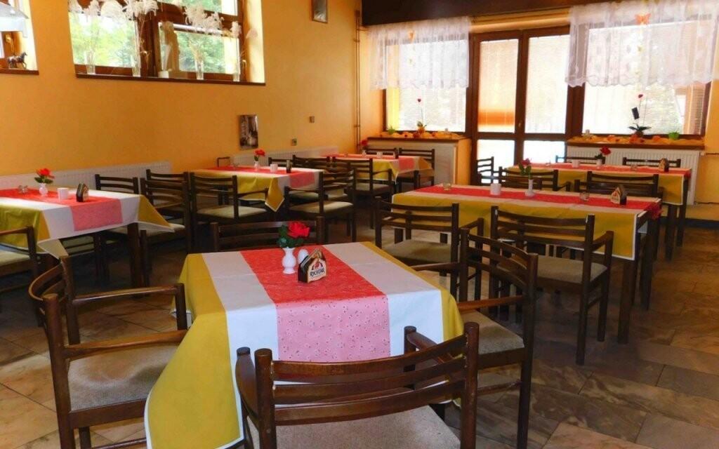 V restauraci vás čeká typická moravská kuchyně