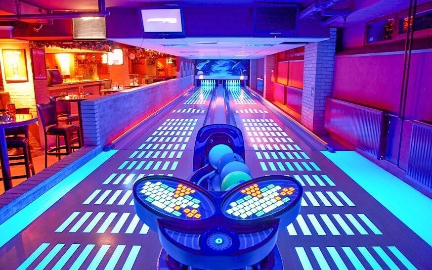 V hotelu najdete i bowlingové dráhy