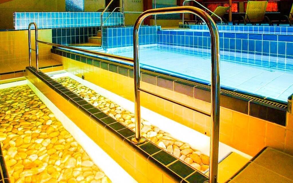Kneippův bazén je zajímavým zpestřením