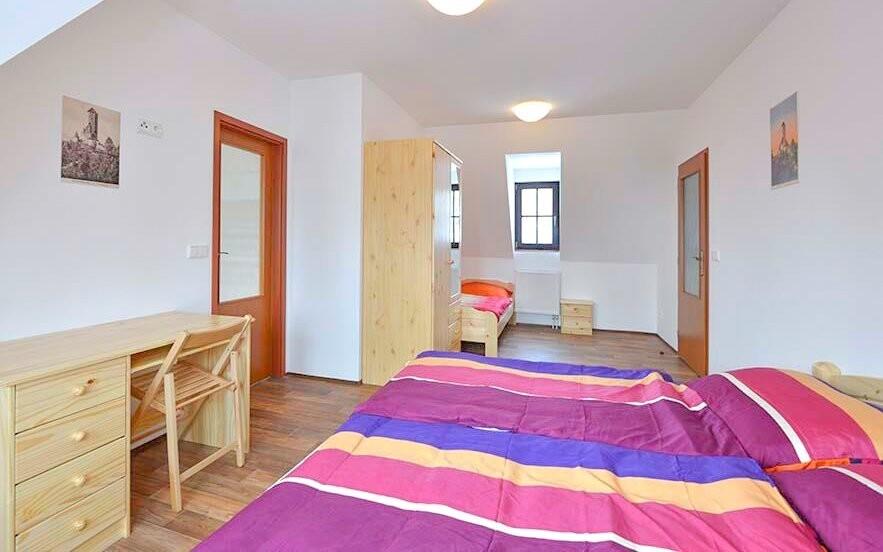 Izby sú komfortne vybavené