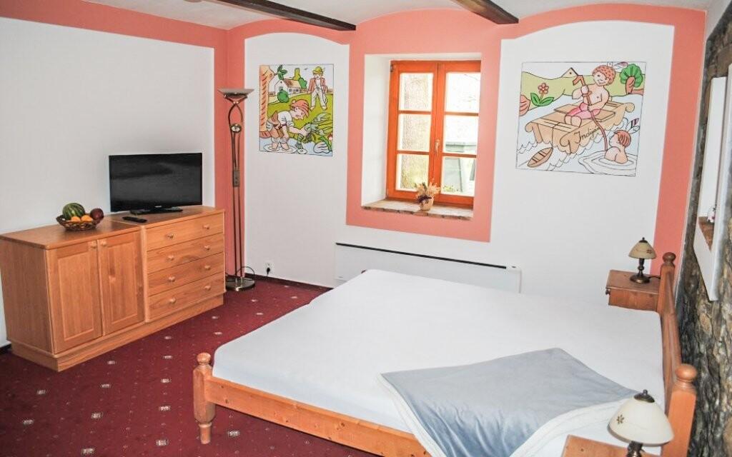 Pokoje jsou pohodlné a stylové