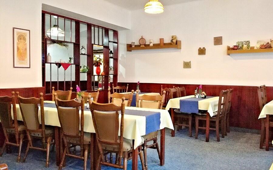 Restaurace, Hotel Slávie, Železná Ruda, Šumava