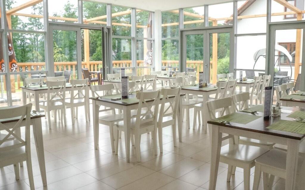 V restauraci vás dostane nádherný výhled do okolí