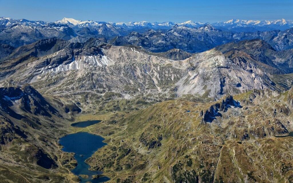 Panorama hor, Nízké Taury, Rakousko
