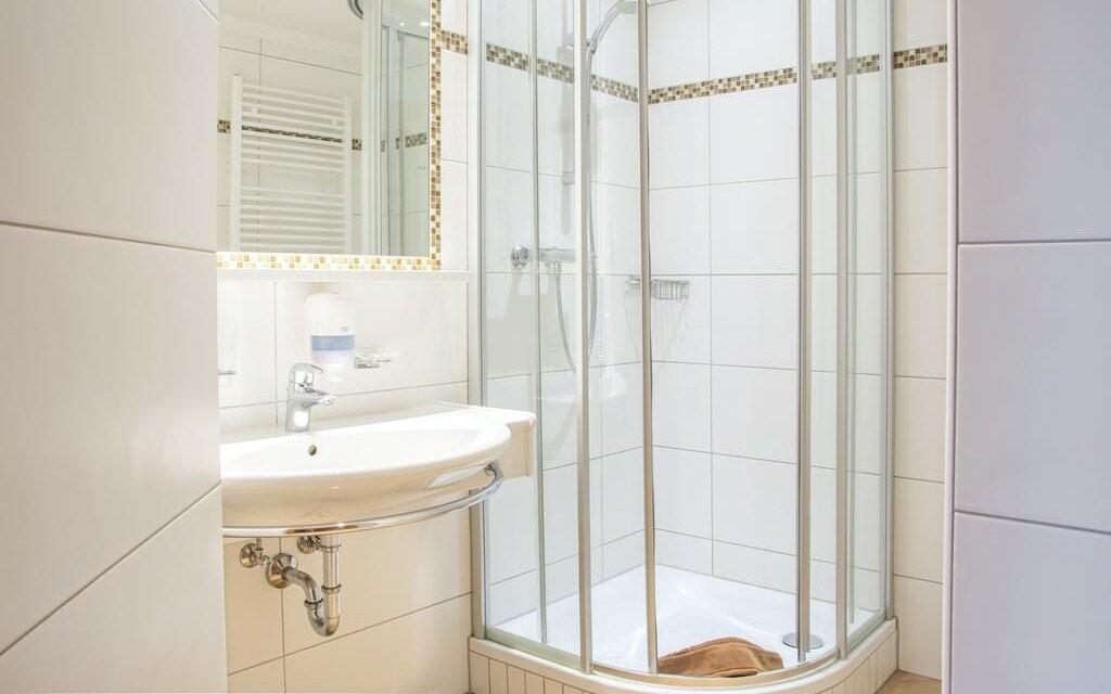 Samozřejmostí je čistá koupelna