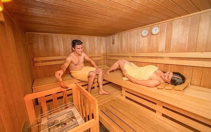 V lázních najdete saunu