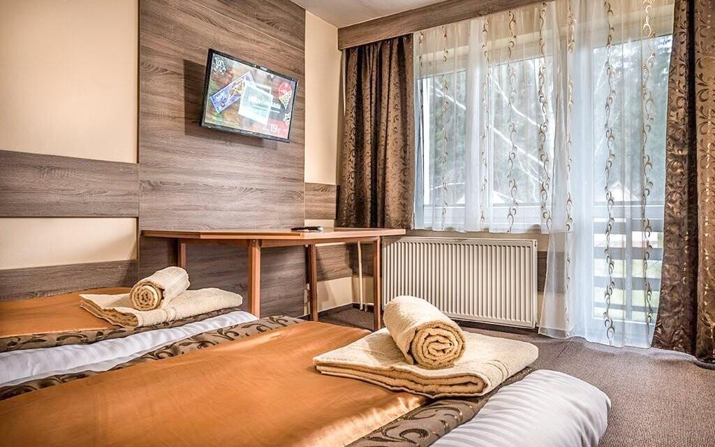 Některé pokoje mají i balkón
