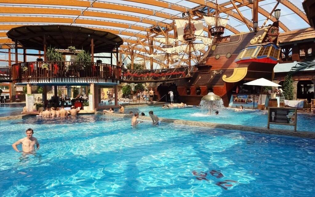 Koupání si můžete užít v Aquaparku Tatralandia