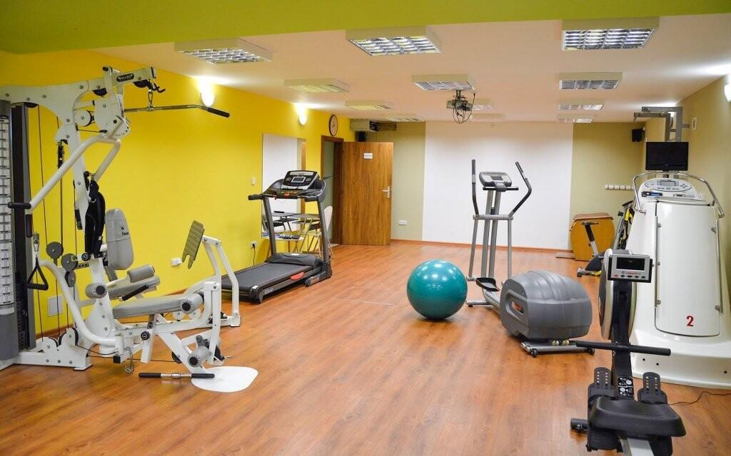 Užijte si moderní fitness centrum