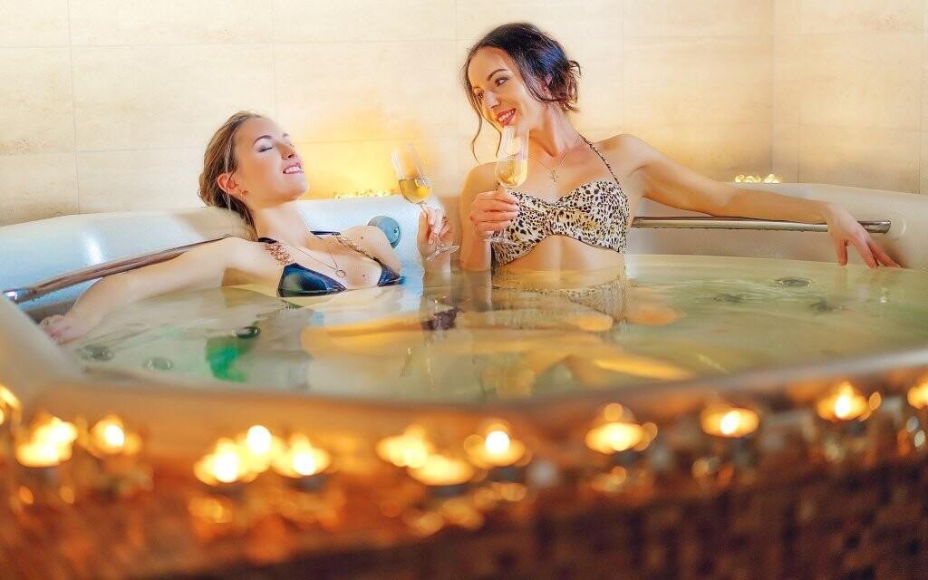 Načerpat energii můžete i ve vodním wellness