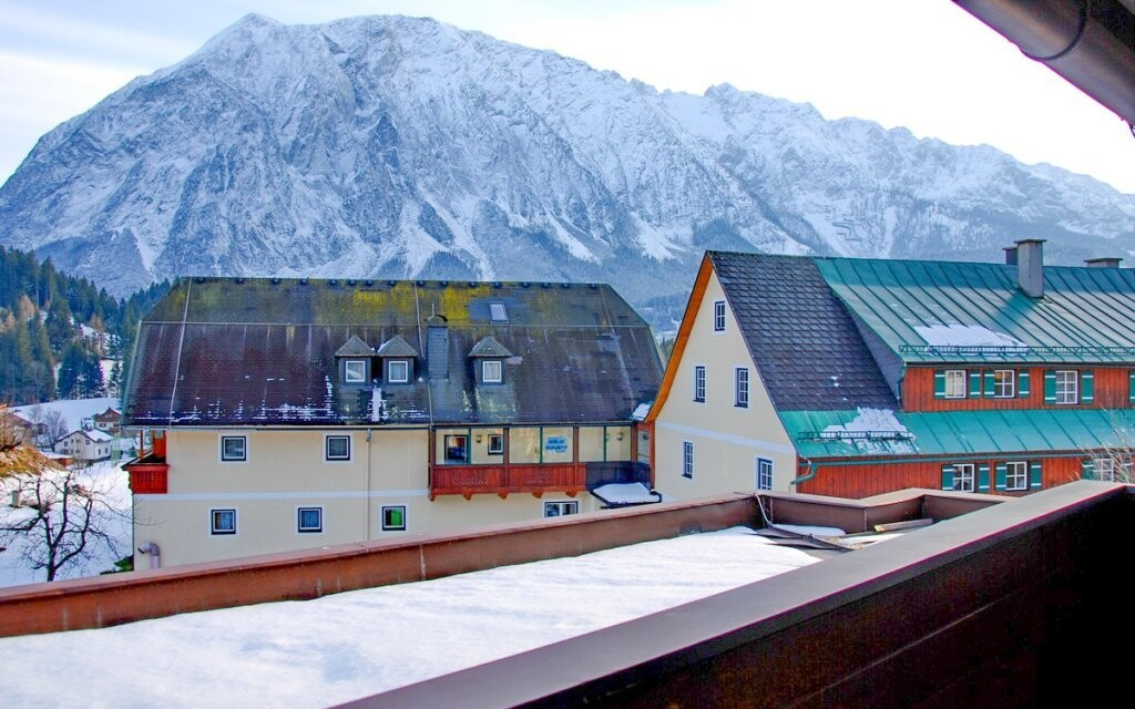 Výhled z hotelu je nádherný