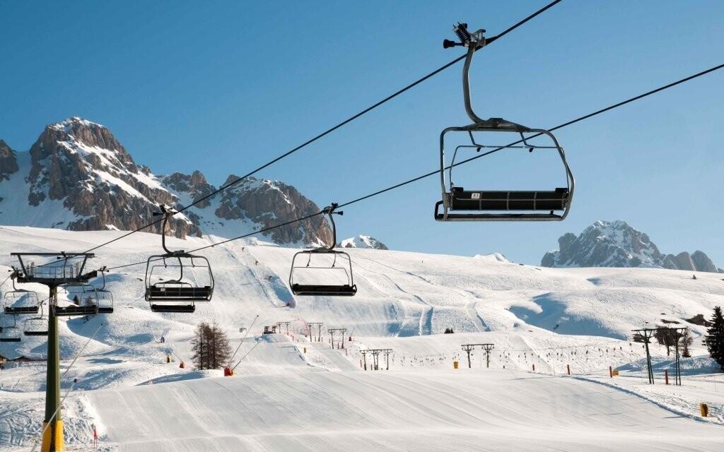 Zalyžujte si v italských Dolomitech