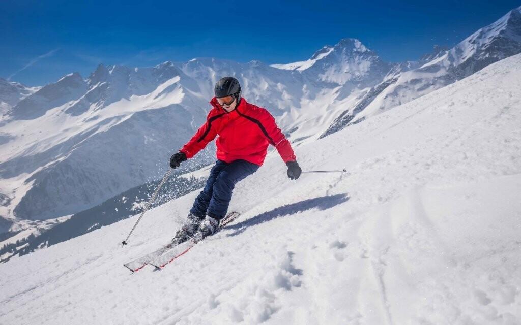 Nedaleko hotelu se nachází rozlehký ski areál