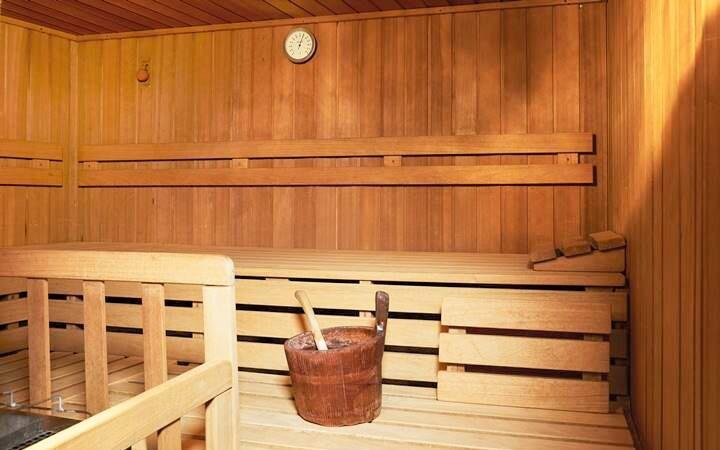 K dispozici je vám wellness se saunami