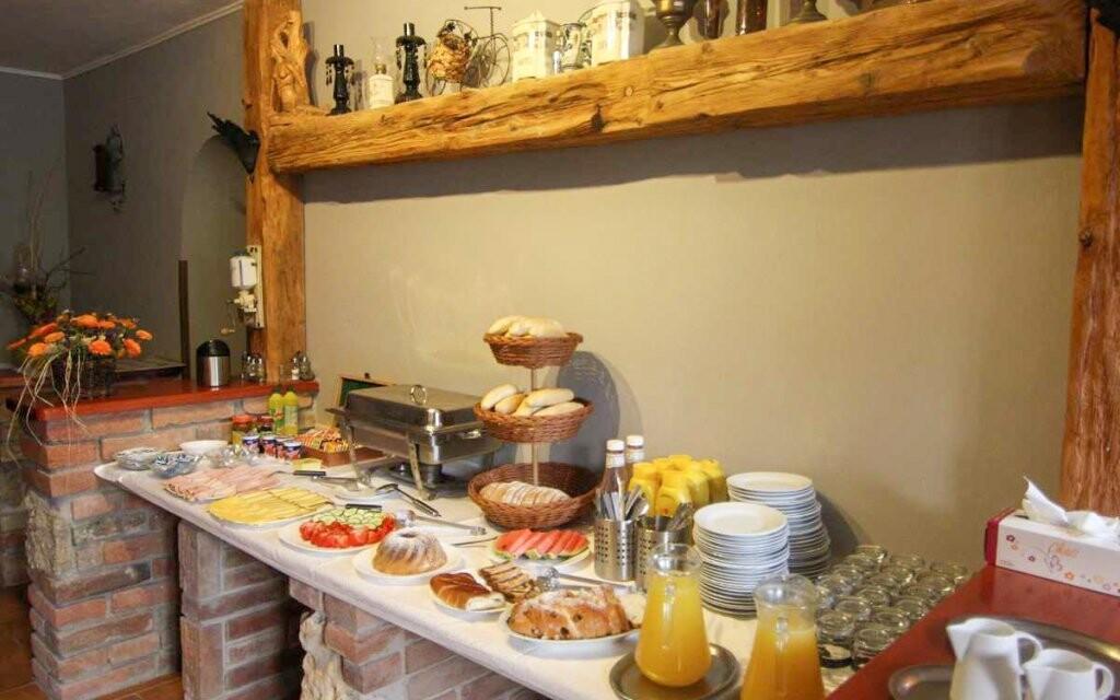 Ráno vás čeká vydatná snídaně