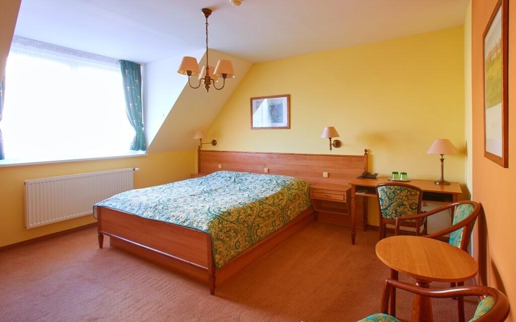 Pokoje Komfort mají stylové vybavení