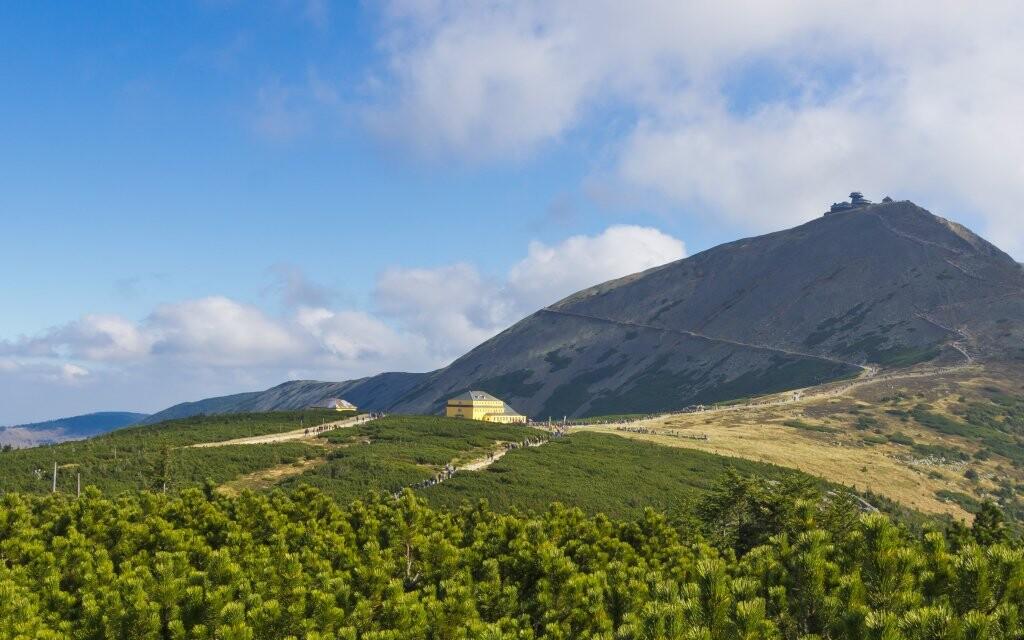 Hora Sněžka, dovolená v Krkonoších