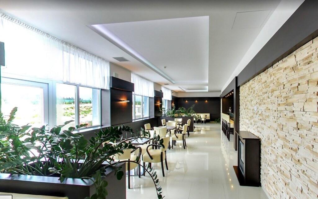 Veľkorysá dispozícia reštaurácie vás ohromí