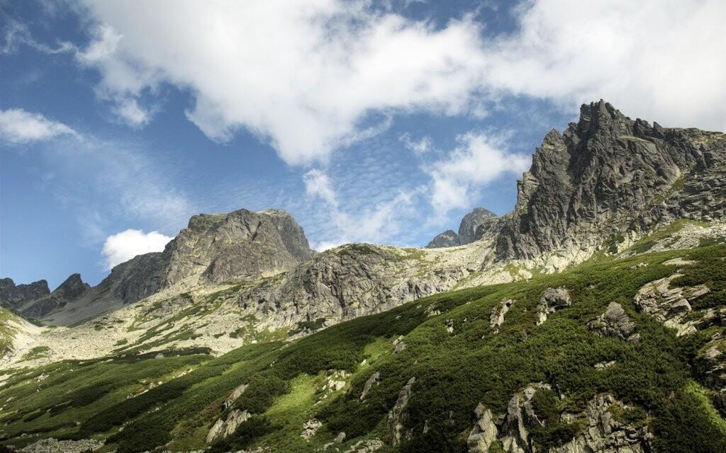 Národní park Vysoké Tatry, turistika Slovensko