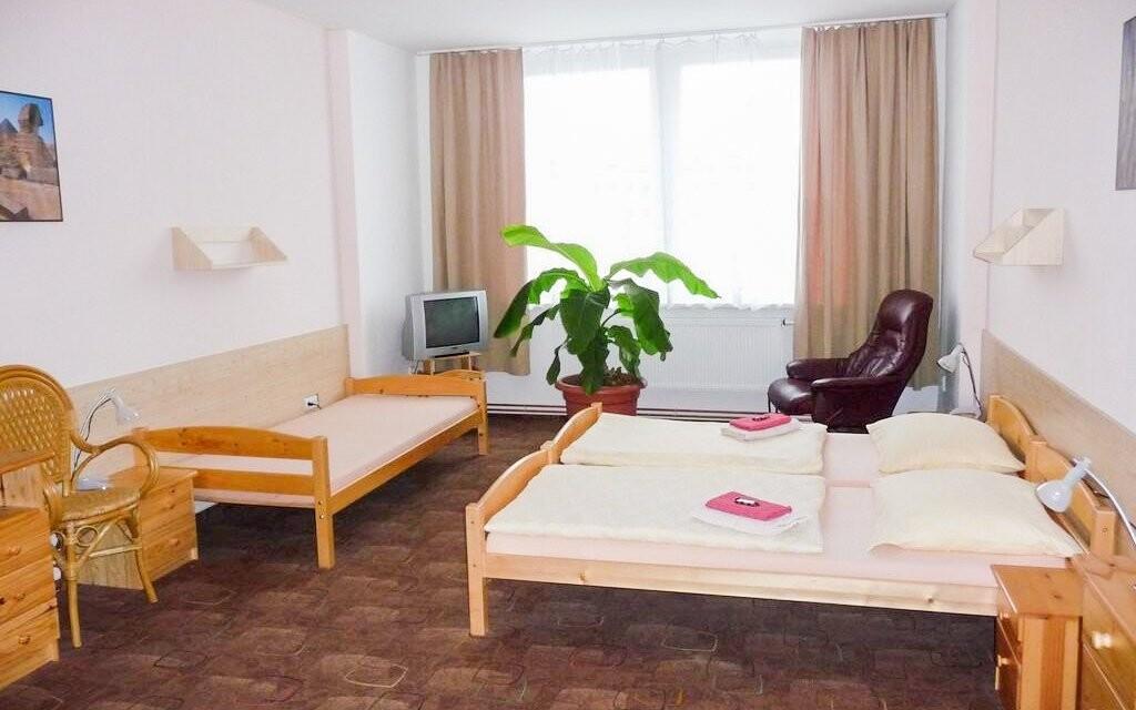 Hotelové izby sú útulné