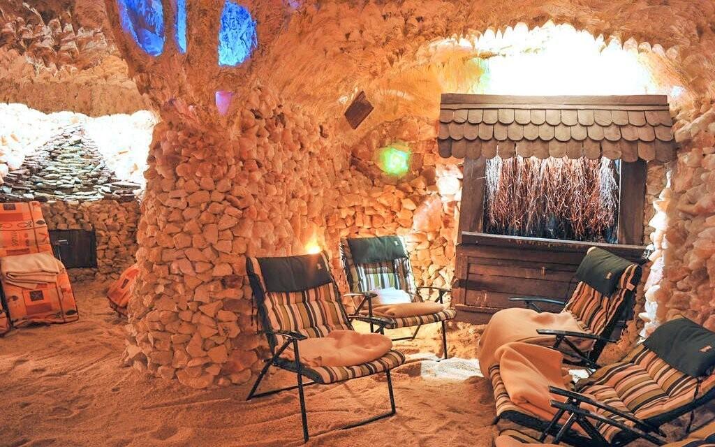 Solná jeskyně je doslova balzámem pro vaše plíce