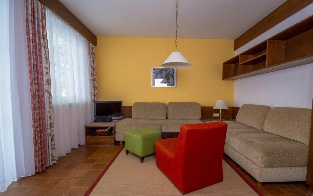 Můžete si vybrat i apartmán