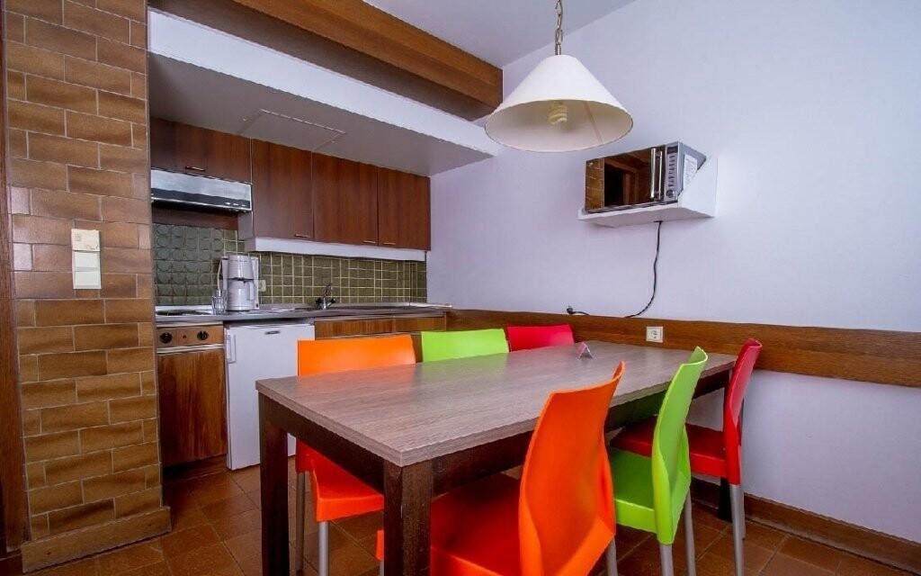 V apartmánu se ubytuje až sedm osob